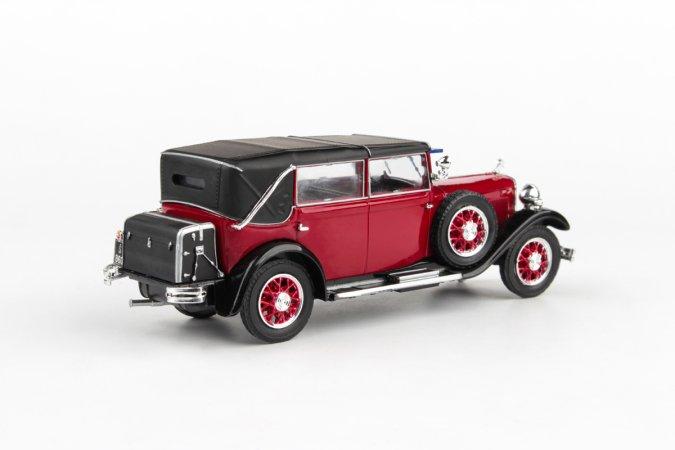 Abrex Škoda 860 (1932) - Červená tmavá