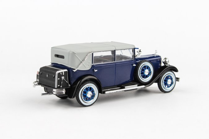 Abrex Škoda 860 (1932) - Modrá