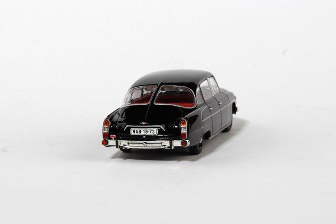 Abrex Tatra 603 (1969) - Černá - Červený interiér