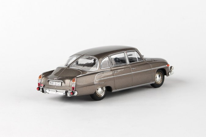 Abrex Tatra 603 (1969) - Šedohnědá metalíza