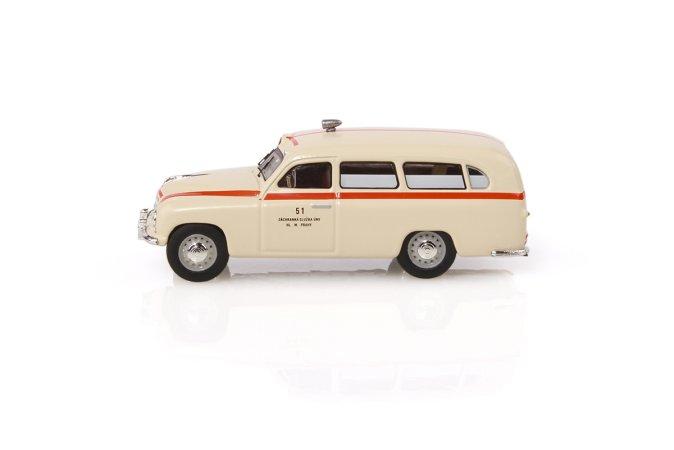 Abrex Škoda 1201 (1956) - Sanitka - Záchranka