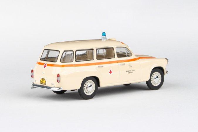 Abrex Škoda 1202 (1964) - Sanitka - ZS Praha 134