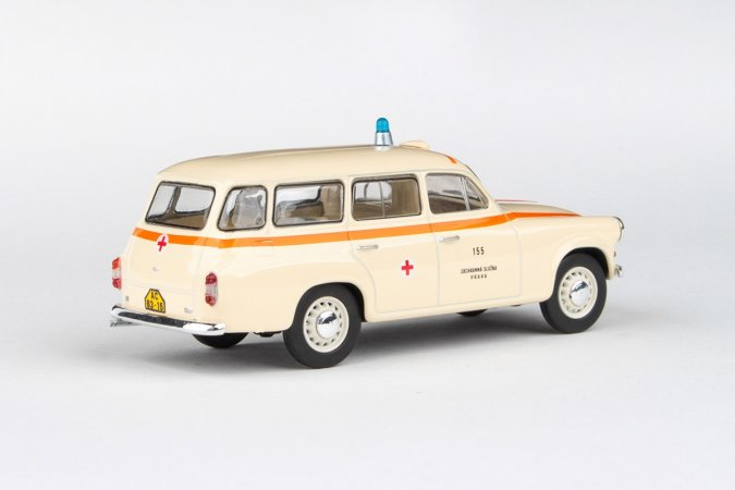 Abrex Škoda 1202 (1964) - Sanitka - ZS Praha 155