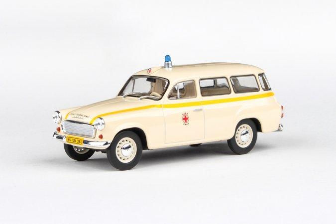 Abrex Škoda 1202 (1964) - Sanitka - MÚNZ Brno