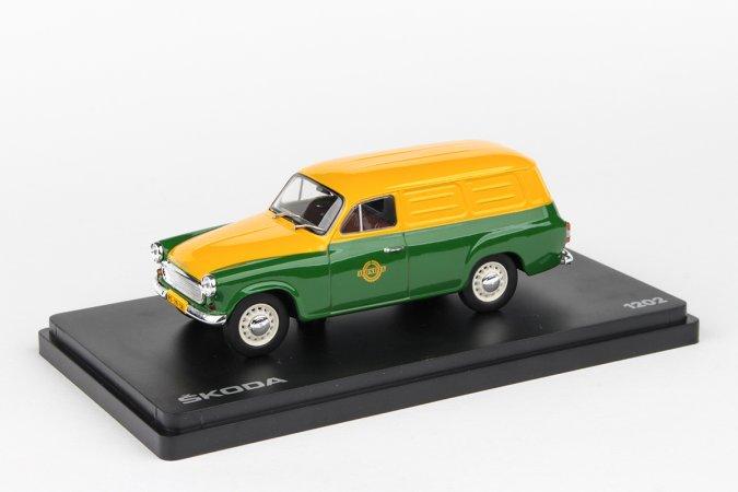 Abrex Škoda 1202 Dodávka (1965) - Pojízdná prodejna