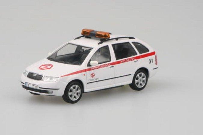 Abrex Škoda Fabia Combi (2000) - DP hl. m. Prahy - Pohotovost Autobusy