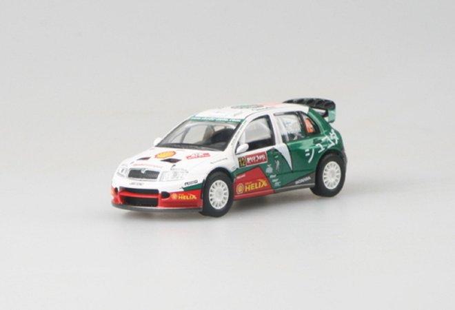 Abrex Škoda Fabia WRC (2005) - Rallye Japan 2005 - 12 Hirvonen - Lehtinen