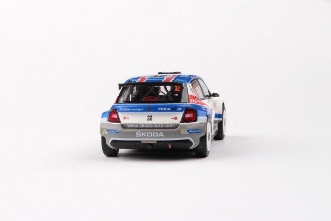 Abrex Škoda Fabia III R5 (2015) - Rallye Monte Carlo 2018 - 32 Kopecký - Dresler