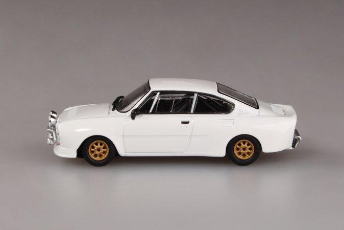 Abrex Škoda 130 RS (1977) - Bílá - Šotolinová kola
