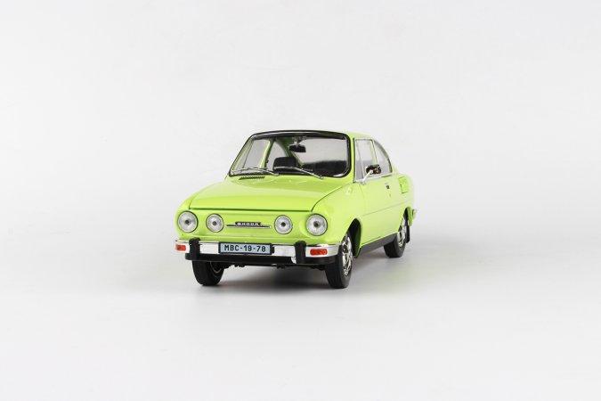 Abrex Škoda 110 R Coupé (1980) - Zelená lipová