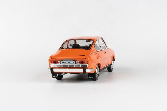 Abrex Škoda 110 R Coupé (1980) - Oranžová