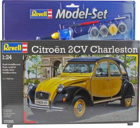 Revell ModelSet - Plastikový model auta Citroen 2CV