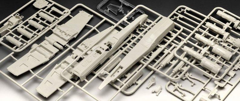 Revell Gift-Set Plastikový model Star Wars X-Wing Fighter + TIE Fighter