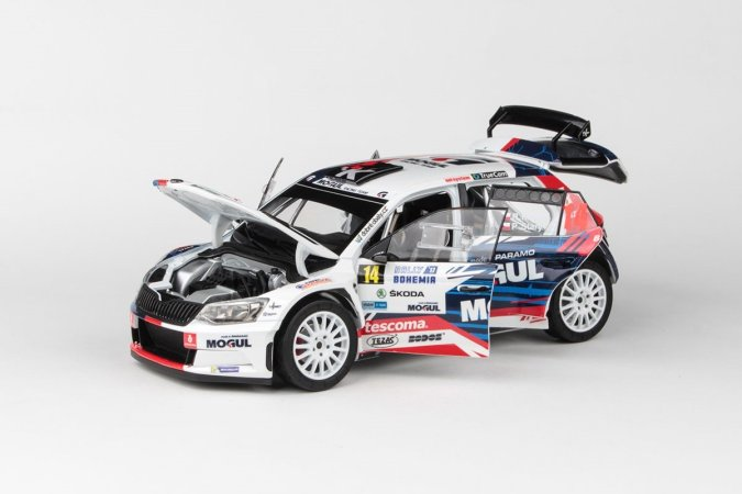 Abrex Škoda Fabia III R5 (2015) - Rallye Bohemia 2017 - 14 Kresta - Starý