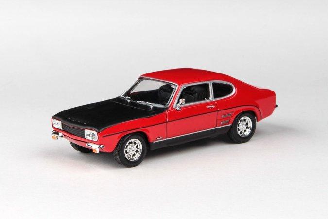 Abrex Cararama - Ford Capri RS (1970) - Red