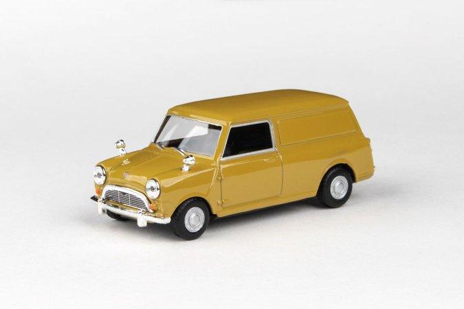Abrex Cararama - Mini Panel Van - Golden Brown