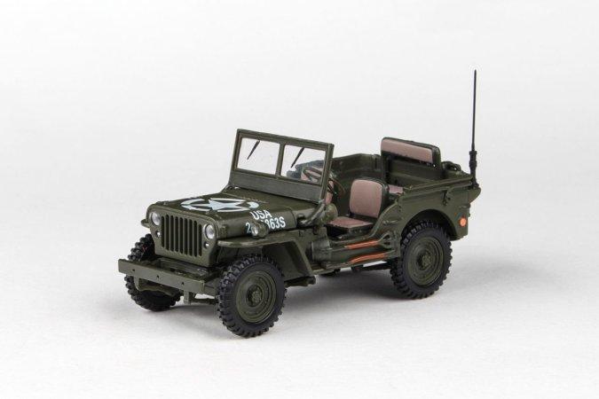 Abrex Cararama - Ton Military Vehicle - US Version 1