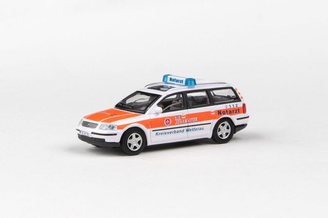Abrex Cararama - Junior Rescue Series VW Passat Variant (NOTARZT)