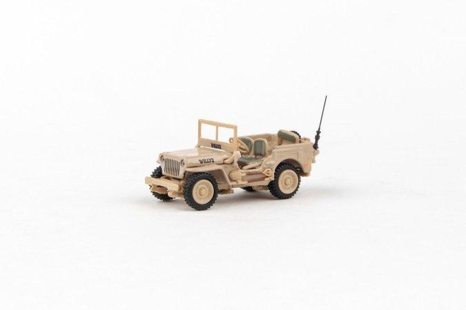 Abrex Cararama - Ton Military Vehicle - Sandy Yellow