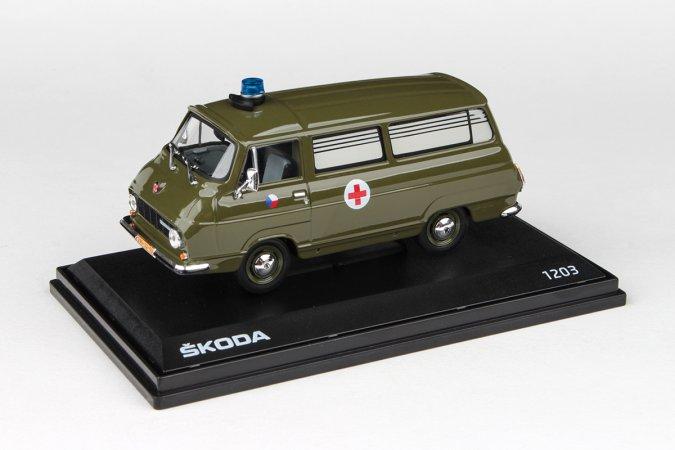Abrex Škoda 1203 (1974) - Vojenská sanitka