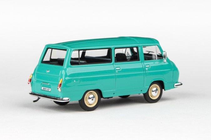 Abrex Škoda 1203 (1974) - Modrozelená