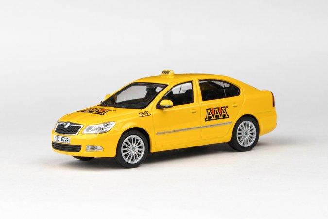 Abrex Škoda Octavia II FL (2008) - AAA Taxi