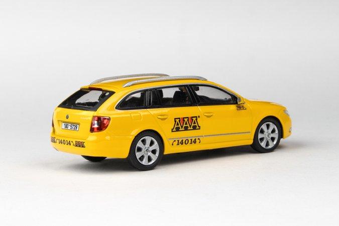 Abrex Škoda Superb II Combi (2009) - AAA Taxi