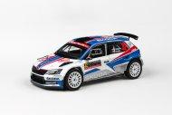 Abrex Škoda Fabia III R5 (2015) - Rallye Monte-Carlo 2018 - 32 Kopecký - Dresler