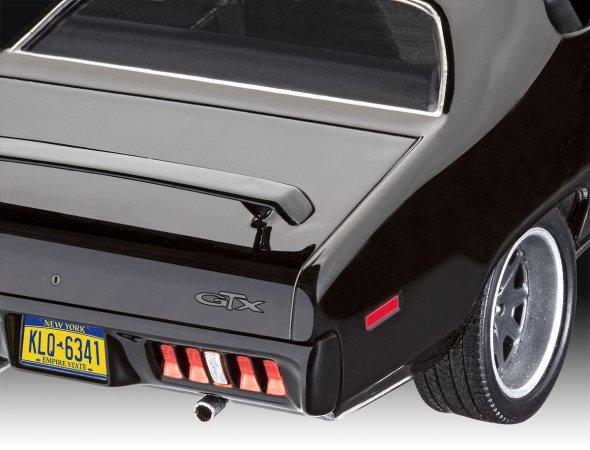Revell Plastikový model auta Fast & Furious - Dominics 1971 Plymouth GTX