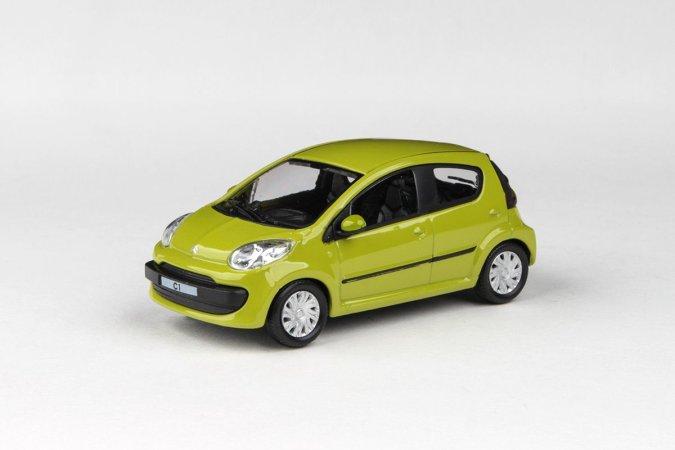 Abrex Cararama - Citroen C1 - Apple Green