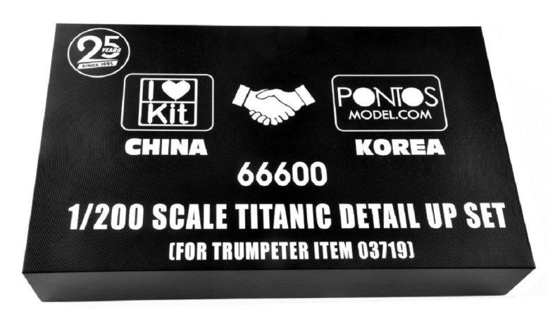 Plastikový model lodě Titanic detail up set