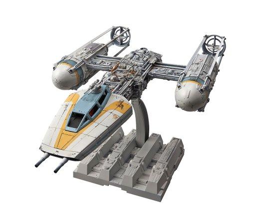 Revell BANDAI Plastikový model Star Wars Y-wing Starfighter