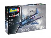 Revell Plastikový model letadla SBD-5 Dauntless Navyfighter
