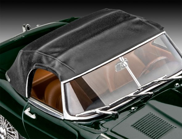 Revell ModelSet - Plastikový model auta Jaguar E-Type Roadster