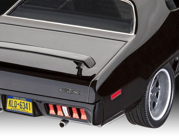 Revell ModelSet - Plastikový model auta Fast & Furious - Dominics 1971 Plymouth GTX
