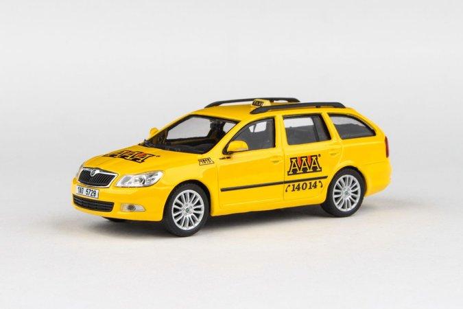 Abrex Škoda Octavia II FL Combi (2008) - AAA Taxi