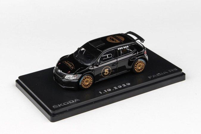 Abrex Škoda Fabia III R5 (2015) - 5. výročí Muzeum autíček