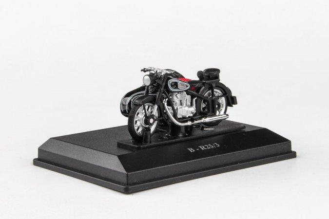 Abrex Cararama - BMW-25/3 Motorbike - Black