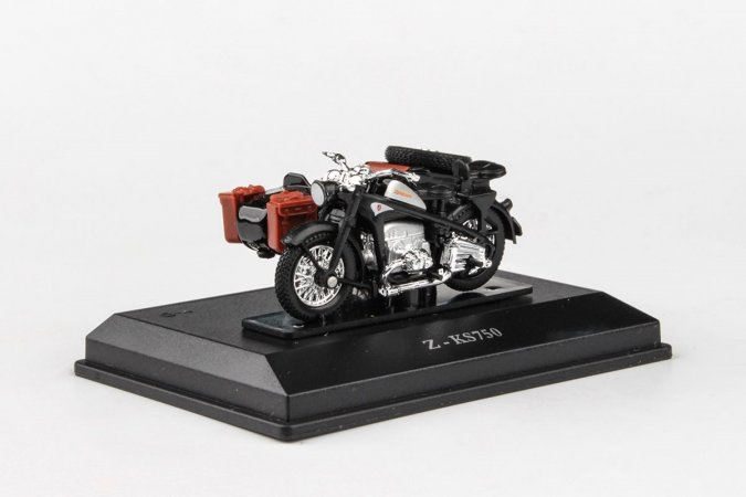 Abrex Cararama - Zuendapp KS 750 Motorbike - Dark Grey