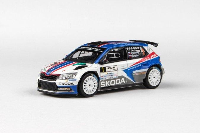 Abrex Škoda Fabia III R5 (2015) - Agrotec Petronas Rallye Hustopeče - 1 Kopecký - Dresler