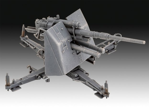 Revell Plastikový model děla 8,8 cm Flak 37 + Sd.Anh.202