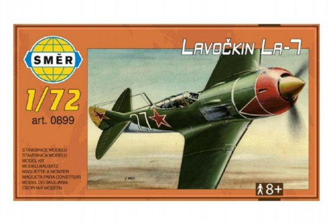 Směr Plastikový model letadla Lavočkin La-7