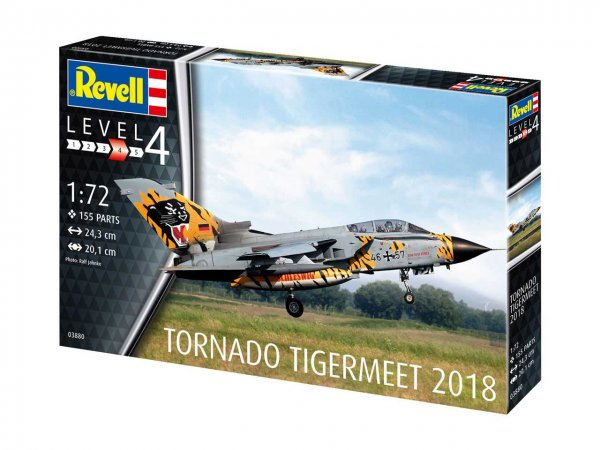 "Revell Plastikový model letadla Tornado ECR ""Tigermeet 2018"""