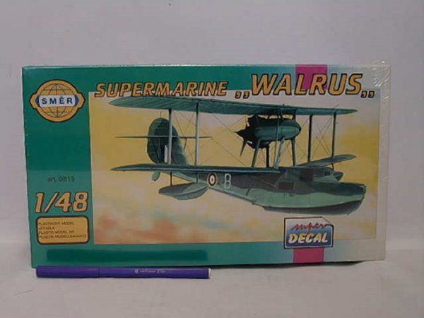 Směr Plastikový model letadla Supermarine Walrus Mk.2
