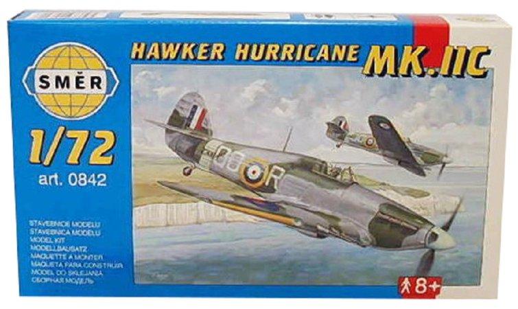 Směr Plastikový model letadla Hawker Hurricane MK.IIC
