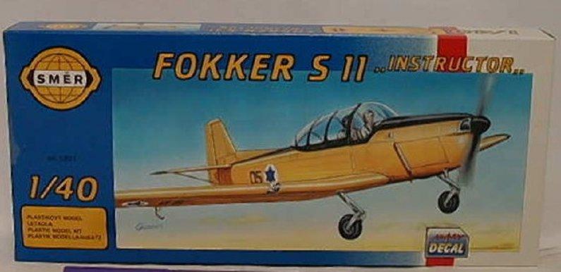 """Směr Plastikový model letadla Fokker S 11 Instructor"""""""""""