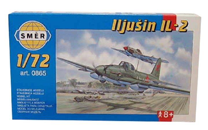 Směr Plastikový model letadla Iljušin IL - 2