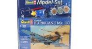 Revell ModelSet - Plastikový model letadla Hawker Hurricane Mk. II C