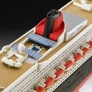 Revell Model Set - Plastikový model lodě Queen Mary 2