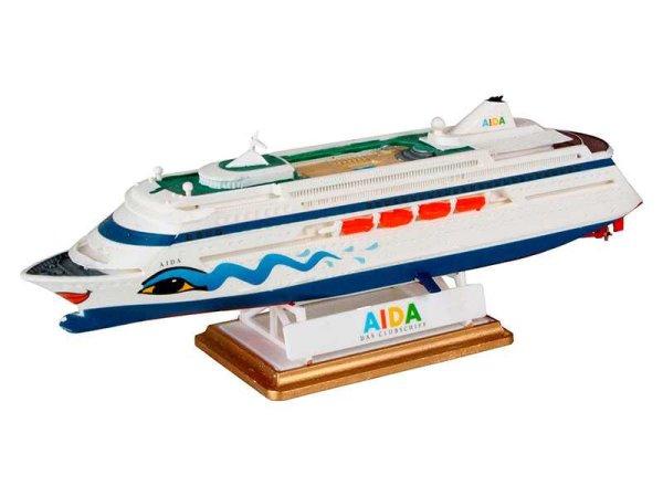 Revell ModelSet - Plastikový model lodě AIDA